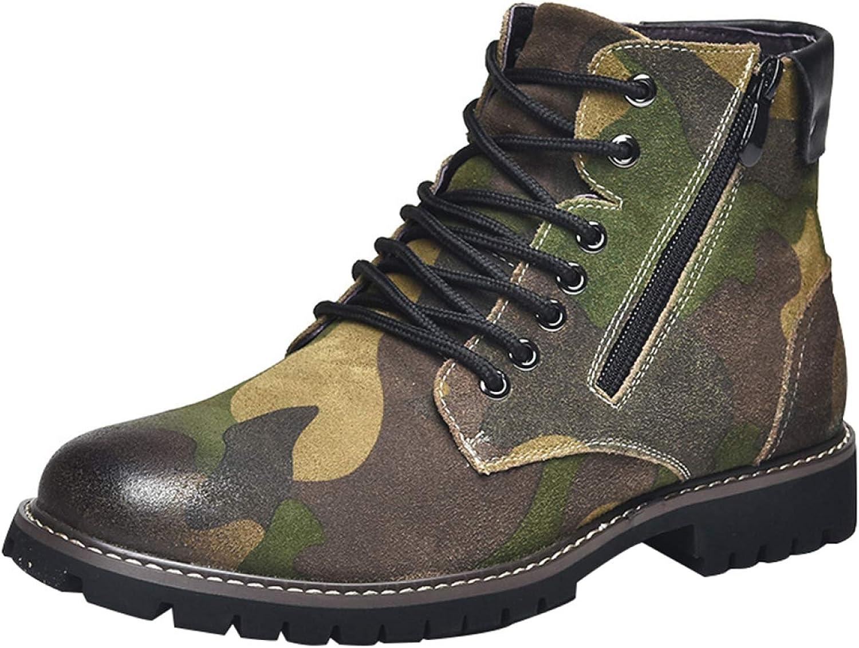XUANXAI Bottes Martin De Combat Pour Camouflage Scrub Pour Hommes