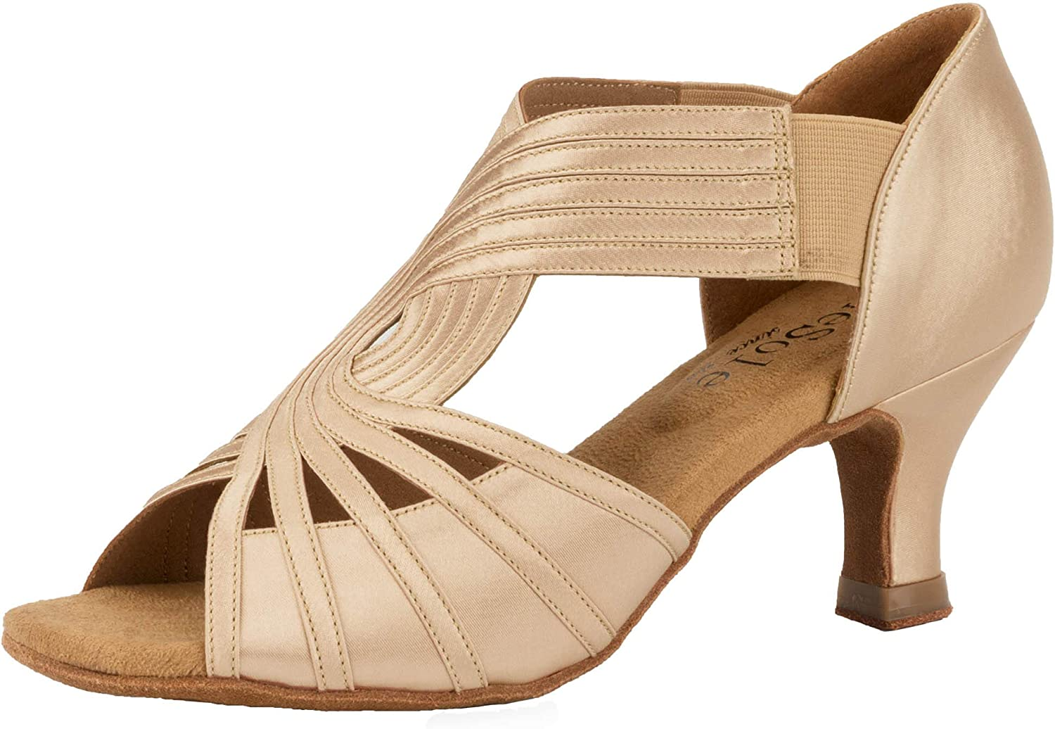 SheSole Women's Strappy Heels Dance Shoes, Super Light for