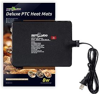 REPTI ZOO 15X20CM マルチパネルヒーター レプタイルヒート 自己温度制御式 パネルヒーター 爬虫類・両生類・小動物用 8W 加熱マット 10-20 ガロン ケージ 対応