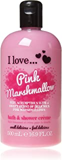 I Love. Pink Marshmallow Bubble Bath And Shower Creme 500ml