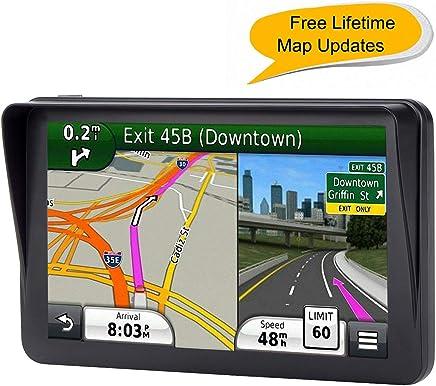 GPS for Car, 7 inches 8GB Lifetime Map Update Spoken Turn-to-Turn Navigation System for Cars, Vehicle GPS Navigator, SAT NAV