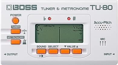 Boss TU80WH TU-80 Tuner/Metronome