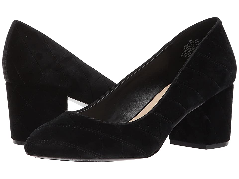 Nine West Ceciley (Black/Black Fabric) Women