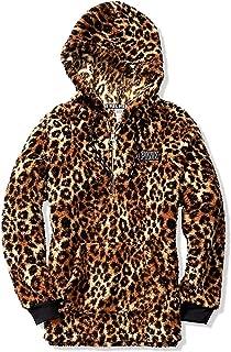 Victoria Secret Pink Leopard Sherpa Hoodie (S/M/L)