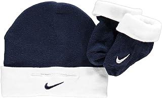 d3ffcf2dd71b8 Nike - Chapeau - Bébé (garçon) Bleu Blanc Bonnet et bottes 0-
