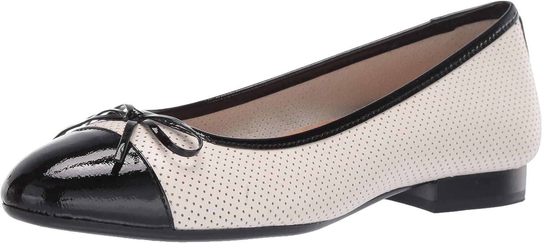 Aerosoles - Detroit Mall Women's Outrun Ballet Almond Comfo Flat Toe discount Shaped