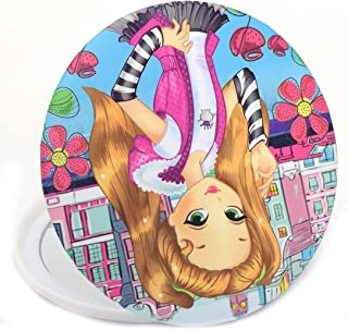 Color Fever Bold Teen Dual Magnifying Compact Mirror