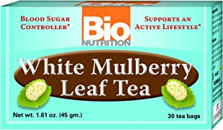 Bio Nutrition White Mulberry Leaf Tea, 30 Count
