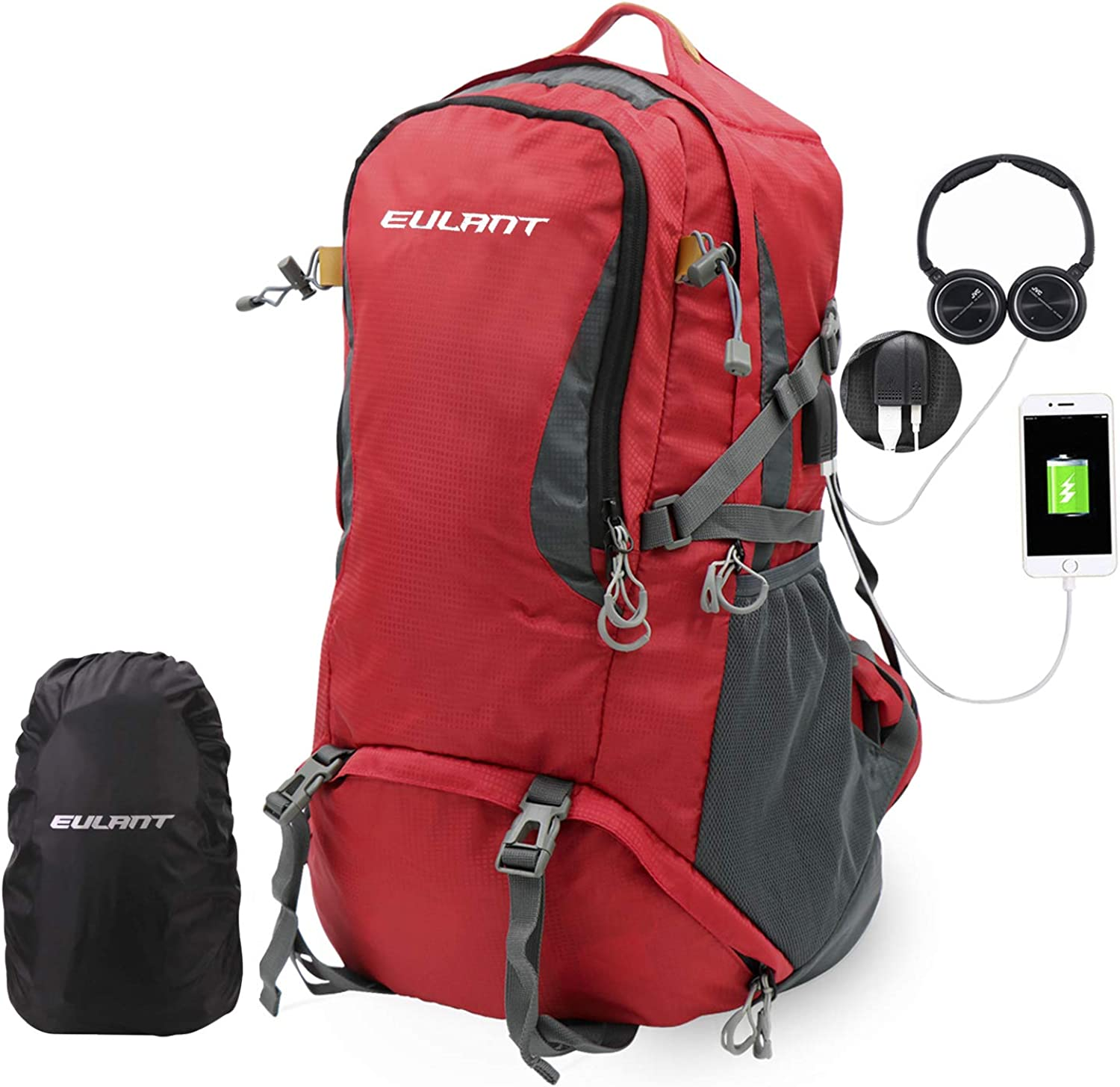 EUALNT Same day shipping Hiking Backpack Travel Daypack for Luxury Mount Climbing Camping
