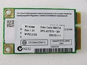 Genuine HP Compaq 6510B, 6710B, NW8430, NX7300, NX7400, NX8420 Laptop Wifi Wireless Card WM3945ABG 407576-001 396331-001 407575-001