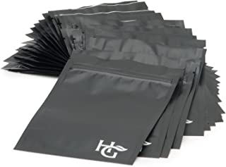 Pack of 25 Smell Proof Bags by Herb Guard (4 x 6 inches) Airtight Seal Keeps Goods Fresh for Months