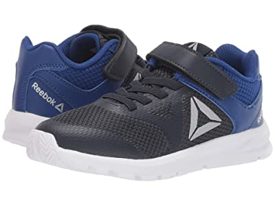 Reebok Kids Rush Runner Alt (Little Kid) (Navy/Cobalt/Silver) Boys Shoes