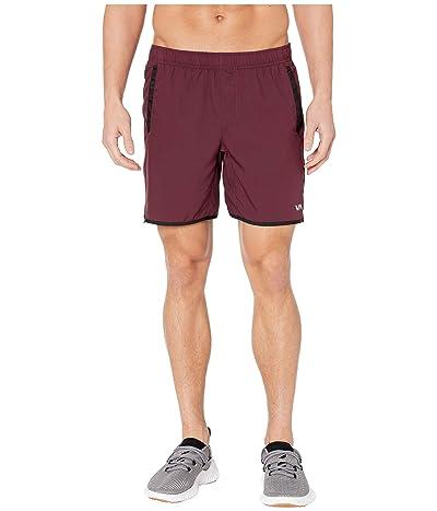 RVCA Yogger III Shorts (Plum) Men