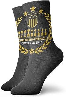 Yuanmeiju calcetines de punto Club AtlÃtico Peñarol Uruguay Futbol Unisex Dress Funny Crazy Winter Warm Crew Socks