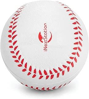 iNextStation Sports Soft Rubber Baseballs White (9 inch Perimeter) for Kids Teenager Players Training Balls