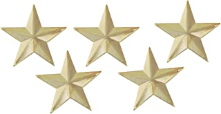 Forge 3D 5 Point Gold Star Lapel Pin