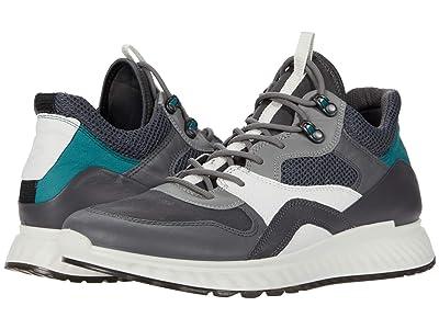 ECCO ST.1 Urban Sneaker (Titanium/Magnet/Wild Dove/Baygreen) Men