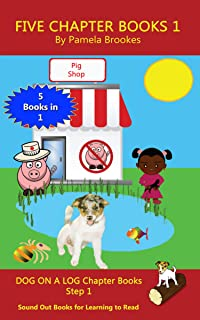 Five Chapter Books 1: Sound Out Books for Learning to Read (Step 1) (DOG ON A LOG Chapter Book Collection)