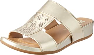 Naturalizer Women's Slip on Leather Slide Yelena