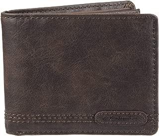 Men's RFID Security Blocking Extra-Capacity Slimfold Wallet