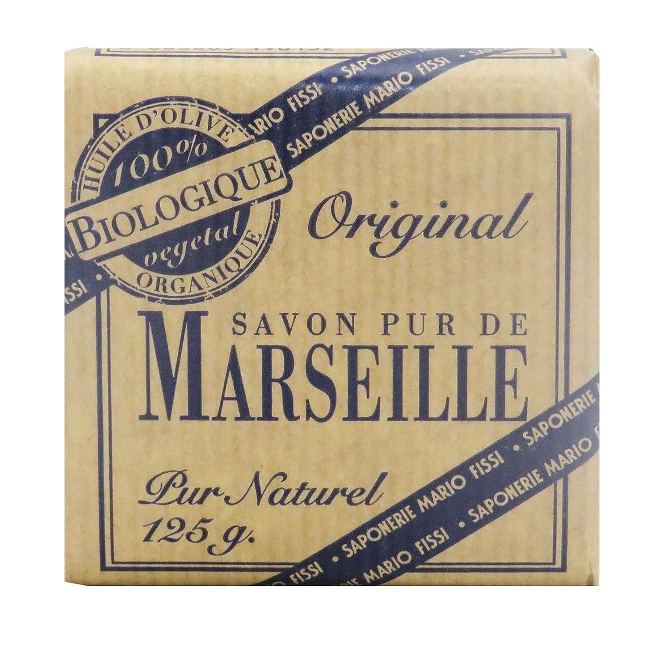 百万増強睡眠Saponerire Fissi マルセイユシリーズ マルセイユソープ 125g Original オリジナル