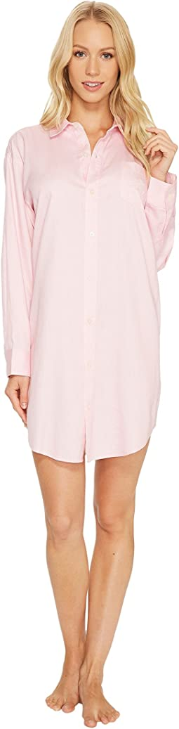 LAUREN Ralph Lauren - Long Sleeve His Shirt Sleepshirt