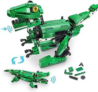 VERTOY Dinosaur Building Blocks - STEM Building Kit for...