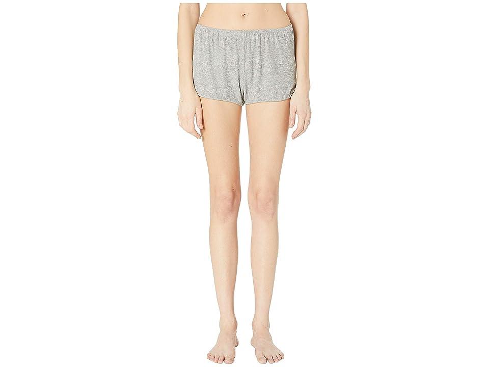 Maison Du Soir Penny Shorts (Heather Grey Rib) Women