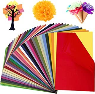Colovis 36 Colors Tissue Paper, 11.6 X 7.7 inches, Bulk Decorative Art Tissue Paper Sheets for DIY Craft Projects (180 She...