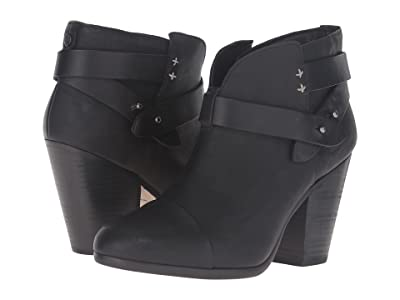 rag & bone Harrow Boot (Cont Black) Women