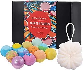 Bath Bombs Bathbombs Bath Bomb Set Bath Gift Set Natural Organic Pure Essential Oils Spa Set Gift Set 12 Pcs for Women Kid...