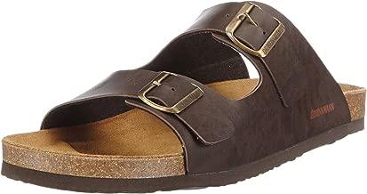 Dr. Brinkmann Mens Footbed Sandal Mocha