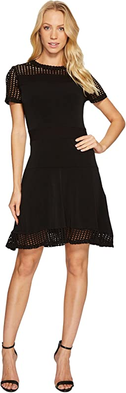 MICHAEL Michael Kors Mesh Combo Dress
