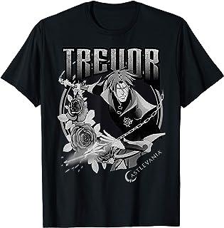 Castlevania Trevor Floral Badge T-Shirt