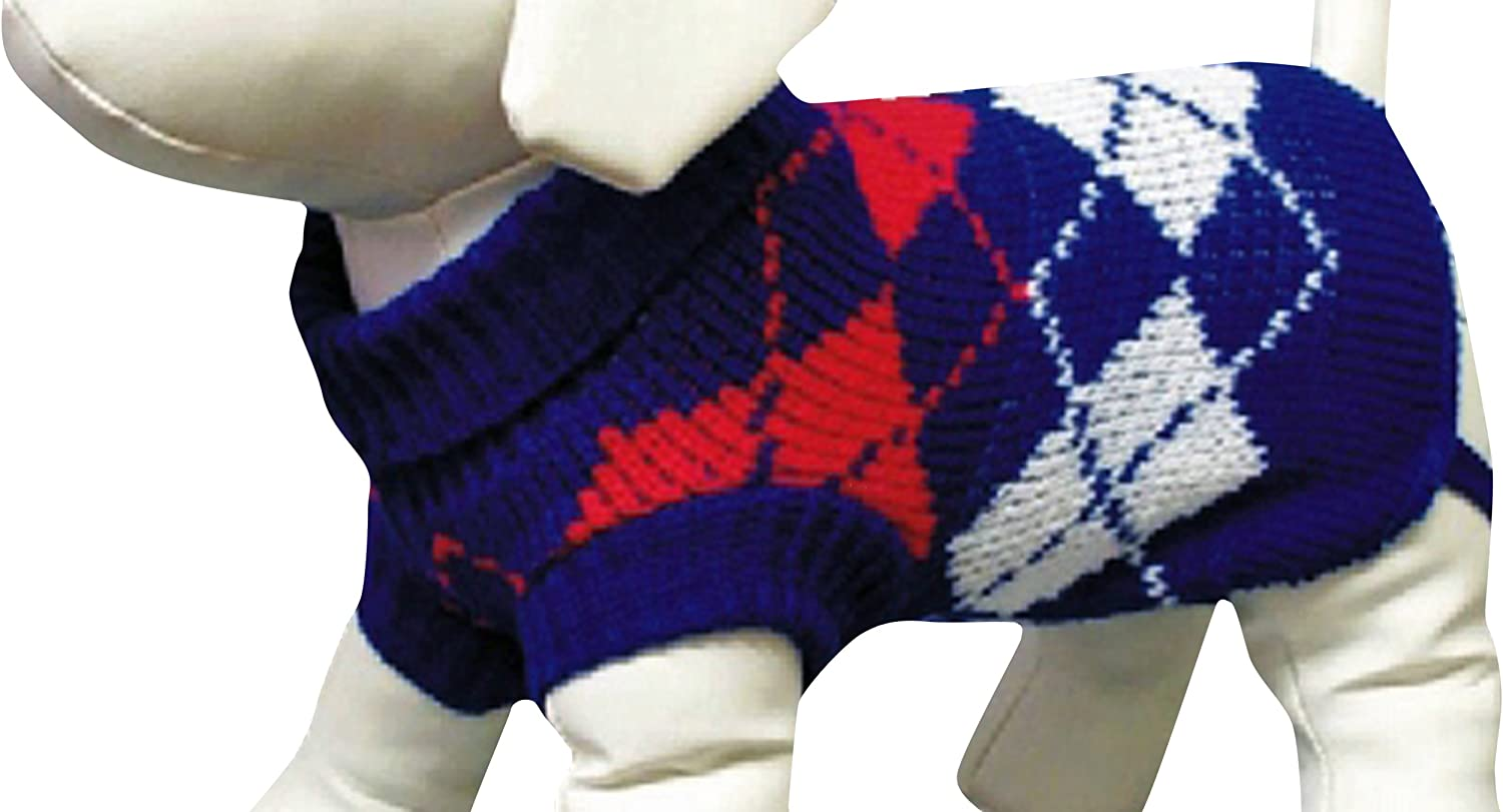 Amazing Pet Products Dog Sweater, 28Inch, bluee