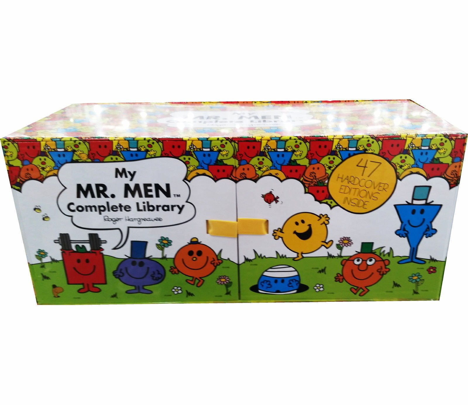 My Complete Library Mr Men 47 Books Complete Box Set Story Collection Hard CoverRoger Hargreaves