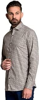 ID Men Olive Slim Fit Shirt