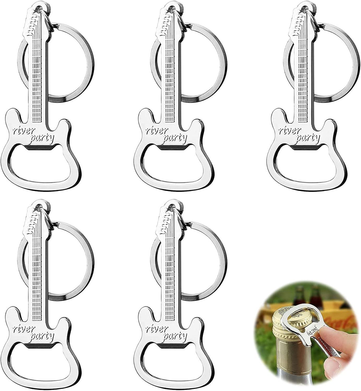 Mini abrebotellas llave Abridor de Cerveza llavero Llavero abrebotellas en metal para día padre hombre cocina restaurante bar fiesta refresco vino botellas cerveza botellas jugo botellas leche 5 pcs