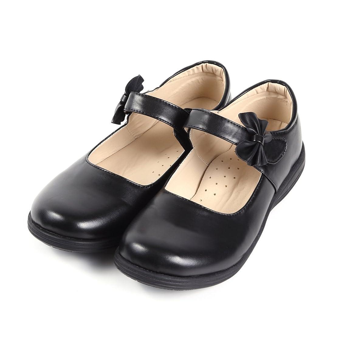 塗抹後方に用心する[§RR∞Ricce] リッチェ Ricce フォーマルシューズ 女の子 子供 キッズ マット 靴 結婚式 入学式 卒業式 お受験 発表会 七五三