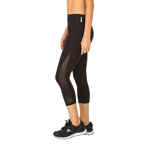 0ff764d36c591 RBX Active Women's Fashion Capri Legging with Mesh Inserts