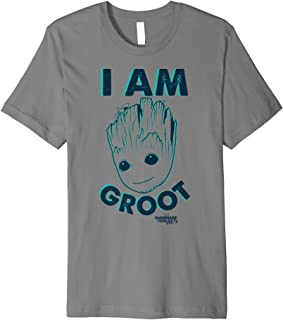 Guardians Vol. 2 I Am Baby Groot Teal Premium T-Shirt