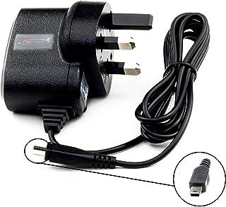 DURAGADGET 2 Pin EU Home /& Wall Mini USB Charger Compatible with Garmin Nuvi 57LM 67LMT 57LMT 58LMT 68LMT /& Camper 660LMT-D