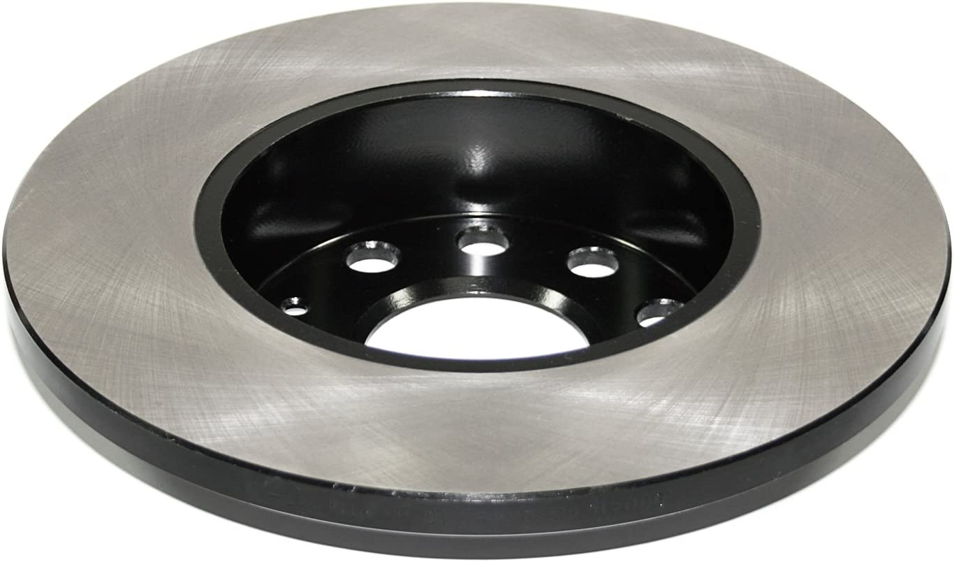 DuraGo BR90041602 Rear Solid Disc Premium Electrophoretic Brake Rotor