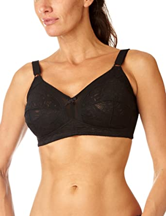 Details about  /Naturana Women/'s Firm Control Longline Bra Non Wired Bra 8000