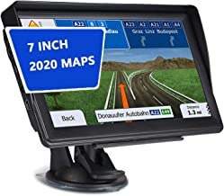 $106 » QWY-Sat Nav for Car with Sunshade Truck Lorry 7 Inch 8GB 256MB GPS Navigation System Pre-Installed 2020 UK and EU Maps
