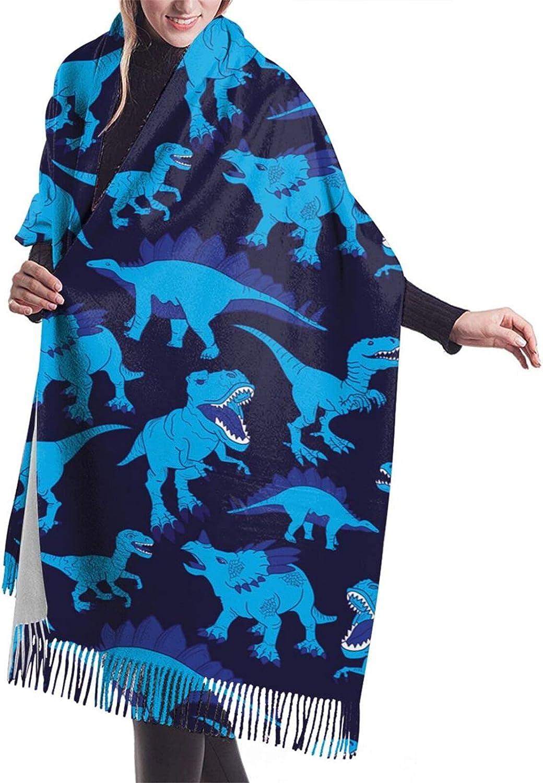 Cute christmas trees and winter landscape Fashion elegant ladies fringed scarf warm party shawl