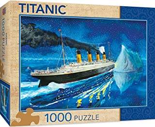 MasterPieces Titanic Series Puzzles Collection - Titanic at Sea Iceburg 1000 Piece Jigsaw Puzzle