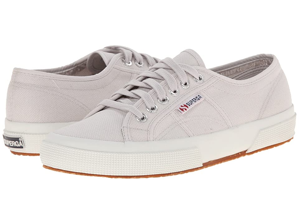 Superga 2750 COTU Classic Sneaker (Grey Seashell) Lace up casual Shoes