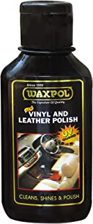 Waxpol Vinyl & Leather Polish,125g