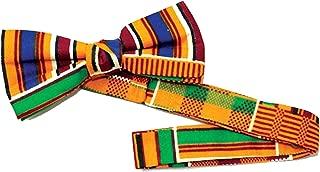 Kente Bow Tie #1 | Mens Bow Tie, Fashion Men (Multicolored kente material)